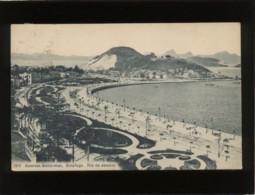 Rio De Janeiro Avenida Beira-mar Botafogo,édit. Ribeiro N° 196  Brésil Brazil Précurseur - Rio De Janeiro