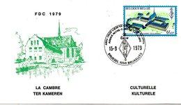 BELGIQUE. N°1935 De 1979 Sur Enveloppe 1er Jour. Abbaye De La Cambre. - Abbazie E Monasteri