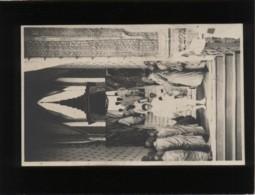 """Cambodge Carte Photo Le """" Wen """" ? Vue Intérieure Escalier Par Lequel On Montait Jusqu'à L'urne Bonzes Royal Photo - Cambodia"""