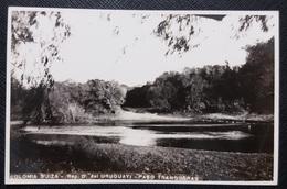 HC 1940 - URUGUAY Colonia Suiza - PASO TRANQUERAS - REAL PHOTO POSTCARD - USED RPPC - Uruguay