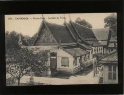 Cambodge Phnom-penh La Salle Du Trône édit. Dieulefils N° 1626 - Cambodia
