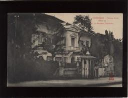 Cambodge Phnom-penh Hôtel De M. Le Résident Supérieur édit. Dieulefils N° ....bis ? - Cambodia