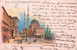 Turquie - Salut De Constantinople - Mosquée Et Liosk Imperial à Top-Hane - Turquie