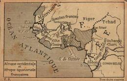 Afrique Occidentale Et Afrique équatoriale Françaises - Cartes Géographiques