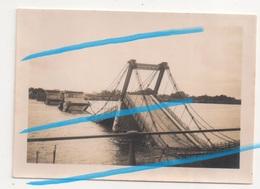 WW2 Pont De Fil Détruit à Châteauneuf-sur-Loire Loiret P. Orléans Sully 1940 ! - 1939-45