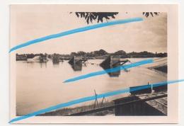 WW2 Pont De Fil Détruit à Châteauneuf-sur-Loire Loiret P. Orléans Sully 1940 !!! - 1939-45