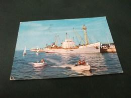 NAVE SHIP ERATO SARTES RIVIERA ADRIATICA MOTOSCAFI  ITALIA PIEGA ANG. - Commercio