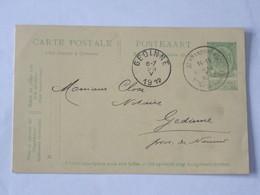 Entier Postal Envoyé De St Amandsberg - Mont St Amand Vers Gedinne Le 25-05-1912 .... Lot7. - Entiers Postaux