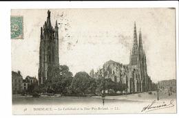 CPA - Cartes Postales-FRANCE-Bordeaux -Cathédrale Et Tour PuyBerland-1903- -S4107 - Bordeaux
