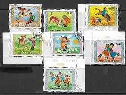 Mongolia  1974 International Children's Day  Used - Mongolia