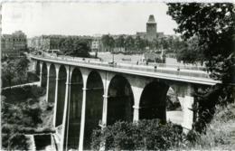 LUXEMBOURG  LUSSEMBURGO Le Viaduc Dit Passerelle Et Avenue De La Gare  Cachet Buvet Bons Vins De Moselle Luxenbourgeoise - Lussemburgo - Città