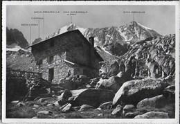 RIFUGIO DENZA - GRUPPO ADAMELLO-PRESANELLA - TIMBRO RIF. STAVEL - VIAGGIATA DA VERMIGLIO 1960 - Alpinisme