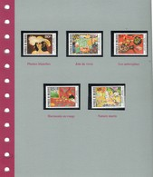 Matisse 5 Timbres Neufs - France