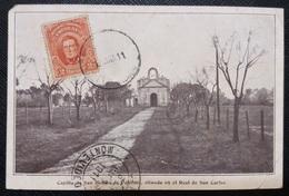 HC 1911 - URUGUAY Colonia REAL DE SAN CARLOS - St. BENEDICT CHAPEL - USED POSTCARD - Uruguay
