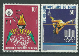 Bénin  N° 455 / 56 XX  Année Préolympique. Les 2 Valeurs  Sans Charnière, TB - Bénin – Dahomey (1960-...)