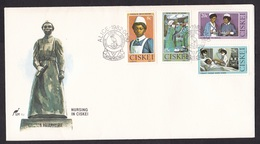 Ciskei: FDC First Day Cover, 1982, 4 Stamps, Nursing, Nurse, Hospital, Health, Surgery (traces Of Use) - Ciskei