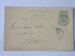 Entier Postal Envoyé De Orchimont - Bohan Vers Gedinne Le 11 Mai 1902 ... Lot7 . - Entiers Postaux