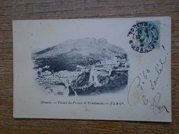 Carte Assez Rare , Monaco , Palais Du Prince Et Condamine - Palais Princier