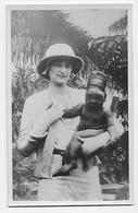 Afrique (Congo?)  Enfant Au Crâne Volontairement Allongé Déformation  Photo Carte - Africa