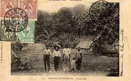 """Campagne Du """"Kersaint"""" -  Nouvelles Hébrides  -  Pointe Dip - Vanuatu"""
