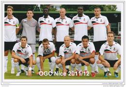 FOOTBALL  PHOTO  EQUIPE DE OGC NICE 2011/12 - Voetbal