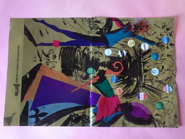 Affiche Salvador Dali Pour La Source Perrier, Dimensions : 34 X 52 Cm, Pliée En Deux - Affiches