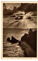 Biarritz Coucher De Soleil Sur La Villa Belza - VG 1945 FP - C382 - Biarritz