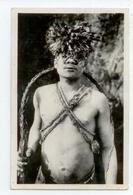 RARE CPA 1936 CONGO OUBANGUI CHARI GROS PLAN ANIME INDIGENE CIRCONCIS DAKPWA COLLECTION ETHNOGRAPHIQUE BE CACHET TIMBRE - Central African Republic