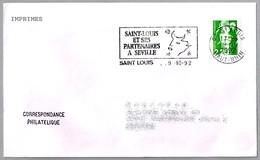 SAINT-LOUIS ET SES PARTENAIRES A SEVILLE- Expo92. Saint Louis 1992 - 1992 – Sevilla (España)