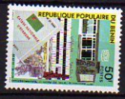 Bénin  N° 463 / 64 X  20ème Anniversaire De L'office Des Postes Et Télécom.. Les 2 Valeurs  Trace De Charnière Sinon TB - Bénin – Dahomey (1960-...)