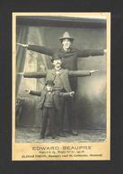 HUMOUR - INSOLITE - LE GÉANT CANADIEN ÉDOUARD BEAUPRÉ 8 PIEDS ET 2½ POUCES NÉ EN 1881 ET DÉCÉDÉ EN 1904 - Humour