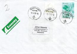 Aland 1998 Mariehamn Map Cartography Sailing Ship Cover - Aland