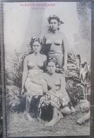 Tahiti Vahine Tahiti Oceanie Française  Cpa - Polynésie Française