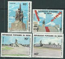 Bénin  N° 467 / 70 X Monuments De La Place Des Martyrs. Les 4 Valeurs  Trace De Charnière Sinon TB - Bénin – Dahomey (1960-...)