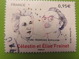 Timbre France - Célestin Et Elise Freinet - Une Pédagogie Populaire - 2018 - France