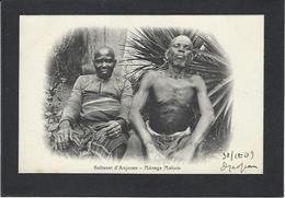 CPA Comores Type écrite - Comoros