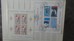 146 Blocs Et Plusieurs Timbres Oblitérés De Différents Pays Dont France 1/2 Bloc Philatec 64 **. Voir Commentaires !!! - Briefmarken