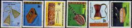 Benin N° 478 / 83 X Instruments De Musique Traditionnelle,  Les 6 Valeurs  Trace De Charnière Sinon TB - Bénin – Dahomey (1960-...)