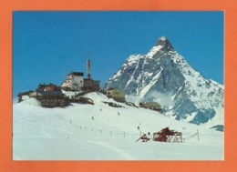 Skilift Testa Grigia, Theodulpass Zermatt-Breuil - Matterhorn, M. Cervino - VS Valais