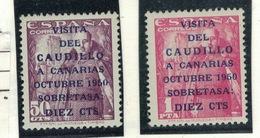 ESPAGNE Yvert 806A / 807A - 1931-50 Neufs