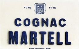 Buvard Cognac Martell   Buvard Marcel Schmitt Belfort - Liqueur & Bière