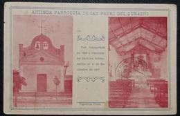 HC 1908 - URUGUAY DURAZNO - SAN PEDRO OLD PARISH CHURCH - Edit. FIGUEROA Hnos - SCARCE USED POSTCARD - Uruguay
