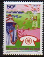 Bénin N° 492/93 X  Journée Mondiale Des Télécommunications  Trace De Charnière Sinon TB - Bénin – Dahomey (1960-...)