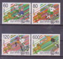 69-015 / BG - 1998   FOOBALL  WORLD CUB FRANCE  Mi 4343/46  O - Bulgarien