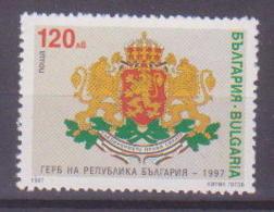 69-021 / BG - 1997  COAT OF ARMS Of BULGARIA    Mi 4319 ** - Bulgarien