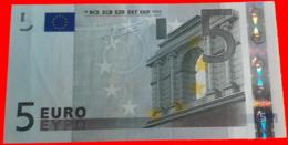 ESPAÑA  BILLETE DE 5.00 €  SIN CIRCULAR SERIE V10718798548 ESPAÑA  DEL AÑO 2002 - EURO