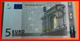 ESPAÑA  BILLETE DE 5.00 €  SIN CIRCULAR SERIE V11724601207 ESPAÑA  DEL AÑO 2002 - EURO