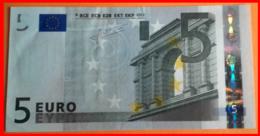 ESPAÑA  BILLETE DE 5.00 €  SIN CIRCULAR SERIE V19215050818 ESPAÑA  DEL AÑO 2002 - EURO