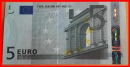 ESPAÑA  BILLETE DE 5.00 €  SIN CIRCULAR SERIE V19234050178 ESPAÑA  DEL AÑO 2002 - EURO