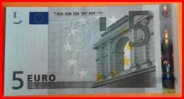 ESPAÑA  BILLETE DE 5.00 €  SIN CIRCULAR SERIE V11724601171 ESPAÑA  DEL AÑO 2002 - EURO